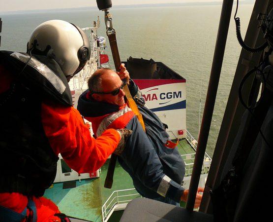 Treuillage pilote Station de pilotage du Havre