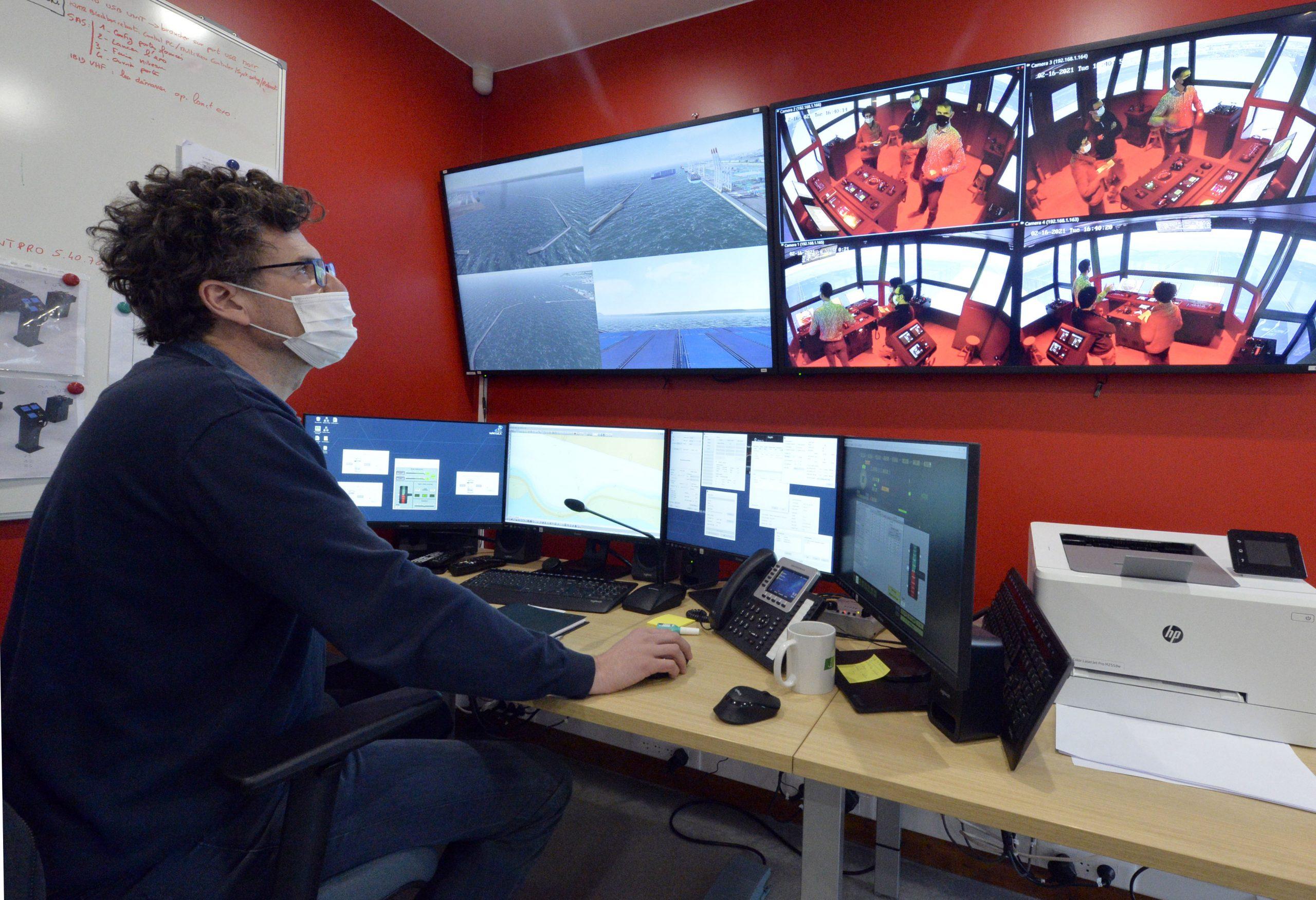 simulateur pilotage le havre